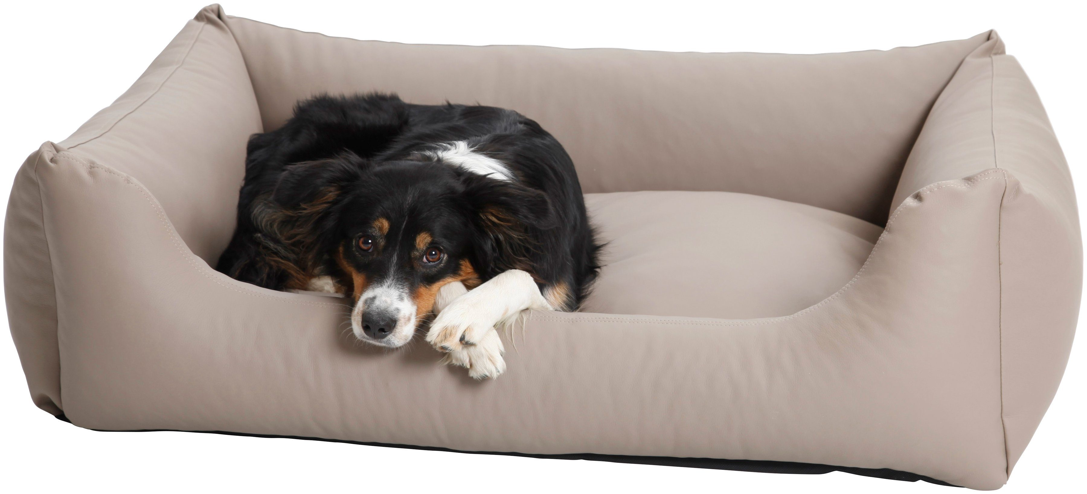 Dogs In The City Hundesofa und Katzensofa »Saddle«, B/T/H: 90/70/28 cm, Sand